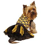 ESC Houndstooth Bat Dog Tank and Tutu Set