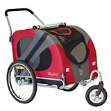 DoggyRide Original Dog Jogger-Stroller Red