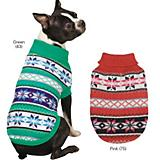 Zack and Zoey Chalet Dog Sweater