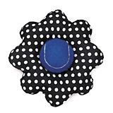 Isaac Mizrahi Floral Dot Ball Flower Dog Toy