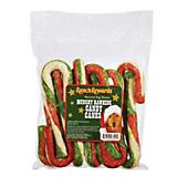 Ranch Rewards Tri Color Rawhide Candy Canes