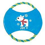 Grriggles Winter Lights Rope Flyer Dog Toy