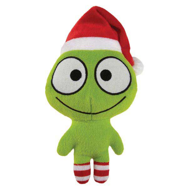 Grriggles Merry Martian Holiday Dog Toy Red