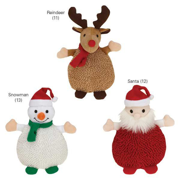 Grriggles Snuggle Up Pal Holiday Dog Toy Reindeer