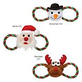 Zanies Holiday Hug Tug Dog Toy