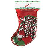 Zanies Santas Super Holiday Dog Toy Stocking