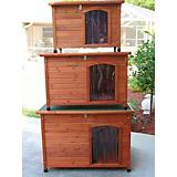Crown Pet Slant Roof Cedar Dog House