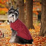 Fashion Pet Donegal Cable Dog Sweater