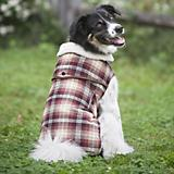 Fashion Pet Country Plaid Dog Coat