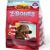 Zukes Z-Bone Berry Edible Dental Dog Chew