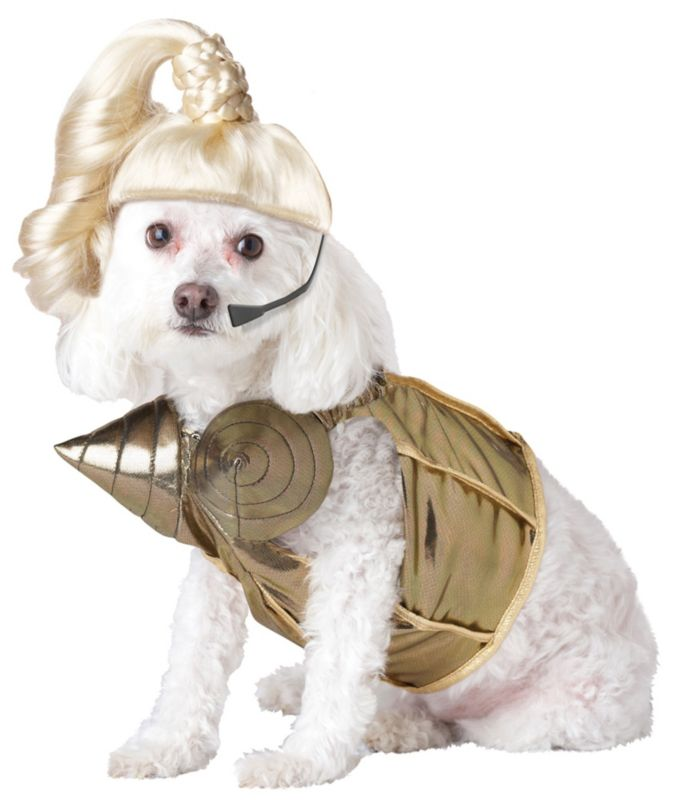 Blonde Ham-Bition Halloween Dog Costume Medium