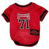NCAA Arkansas Razorbacks Dog Jersey