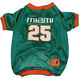 NCAA Miami Hurricanes Dog Jersey