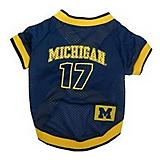 NCAA Michigan Wolverines Dog Jersey