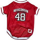 NCAA Wisconsin Badgers Dog Jersey