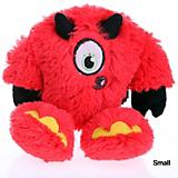 goDog Red Yeti Devil Plush Dog Toy