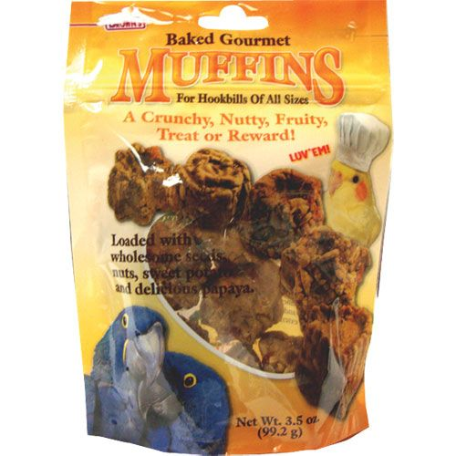 FM Browns Gourmet Hookbill Muffin Treat