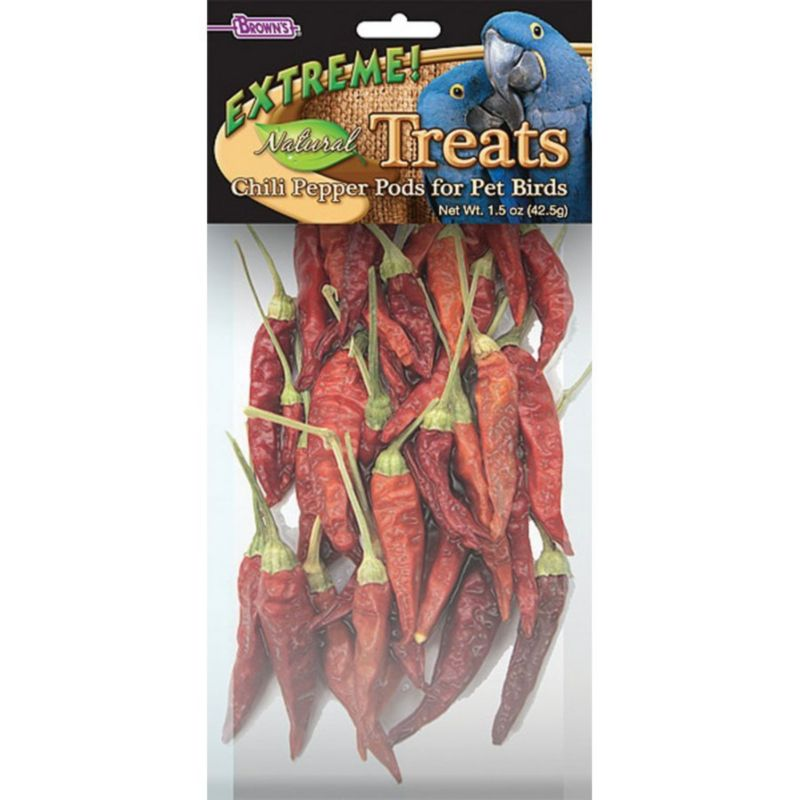 Extreme Natural Chili Pepper Pods Bird Treat
