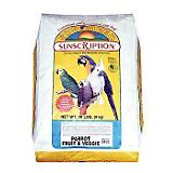 Vitakraft Parrot Fruit and Vegetable Food 25lb