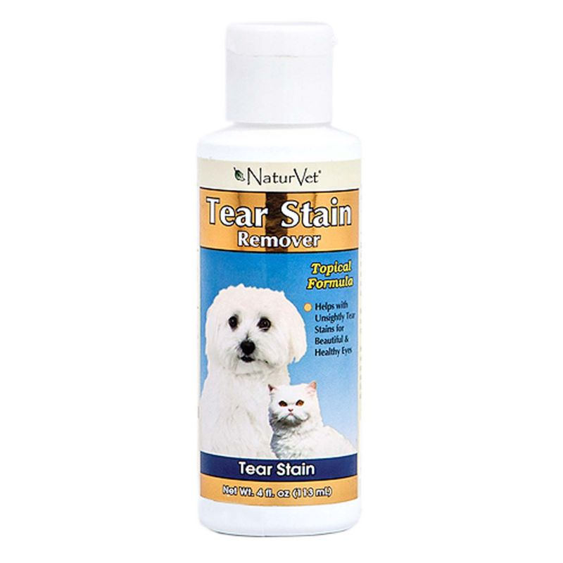 NaturVet Tear Stain Remover Topical for Pets