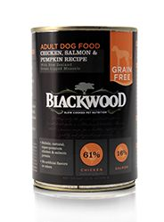 Blackwood Grain Free Chicken/Salmon Can Dog Food