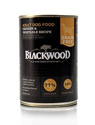 Blackwood Grain Free Chicken/Veggie Can Dog Food