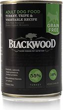Blackwood Grain Free Turkey/Tripe Can Dog Food