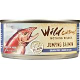Wild Calling Jumping Salmon Can Cat Food 24 Pack