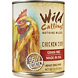 Wild Calling Chicken Coop Can Dog Food 12 Pack