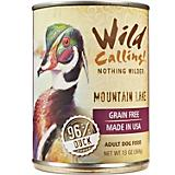 Wild Calling Mountain Lake Duck Can Dog Food