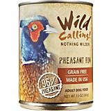 Wild Calling Pheasant Run Can Dog Food 12 Pack