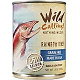 Wild Calling Rainbow River Salmon Can Dog Food
