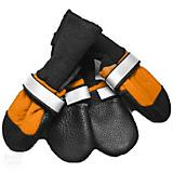Fleece Lined Muttluks Orange Dog Boots