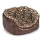 Slumber Pet Plush Safari Nest Dog Bed