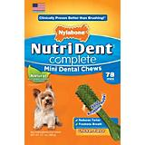 Nutri Dent Complete Chicken Mini Dog Chew