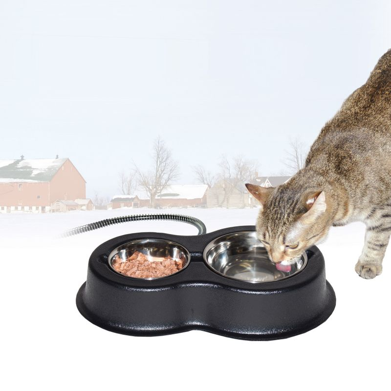 K and H Thermo Kitty Cafe Heated Cat Feeder