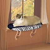 K and H Zebra Kitty Sill Window Perch