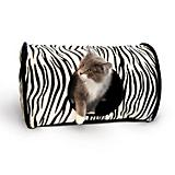 K and H Zebra Kitty Camper Cat Bed