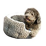Dana Zoo Stone Textured Cuddler Black Dog Bed