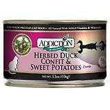Addiction Grain Free Duck Confit Can Cat Food 12Pk