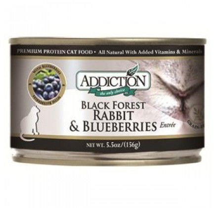 Addiction Grain Free Rabbit/Blueberry Can Cat Food