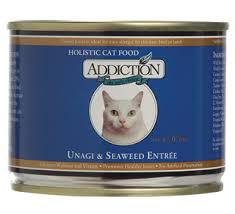 Addiction Grain Free Unagi/Seaweed Can Cat Food