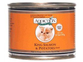 Addiction Grain Free Salmon/Potato Can Cat Food