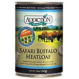 Addiction Grain Free Buffalo Meatloaf Can Dog Food