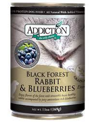 Addiction Grain Free Rabbit/Blueberry Can Dog Food