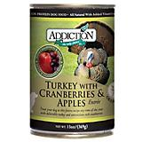 Addiction Grain Free Turkey/Cranberry Can Dog Food