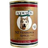 Addiction Grain Free Venison/Apple Can Dog Food