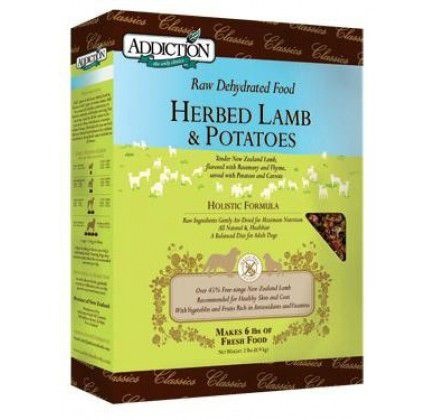 Addiction Grain Free Lamb and Potato Dry Dog Food