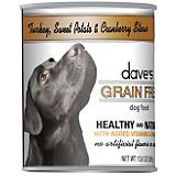 Daves Grain Free Turkey/Sweet Potato Can Dog Food