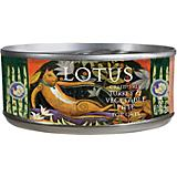 Lotus Grain Free Turkey/Vegetable Can Cat Food